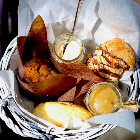 The White Bull Brunch Pastry Basket