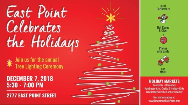 East Point Celebrates The Holidays Graphic