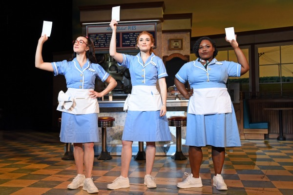 Jessie Shelton, Christine Dwyer And Tatiana Lofton In Waitress Credit Tim Trumble