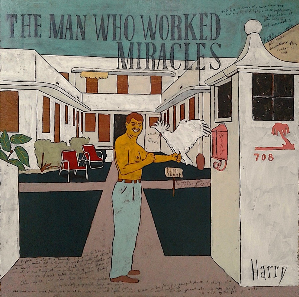 Harry Underwood The Man Who Worked Miracles 26x26 2018