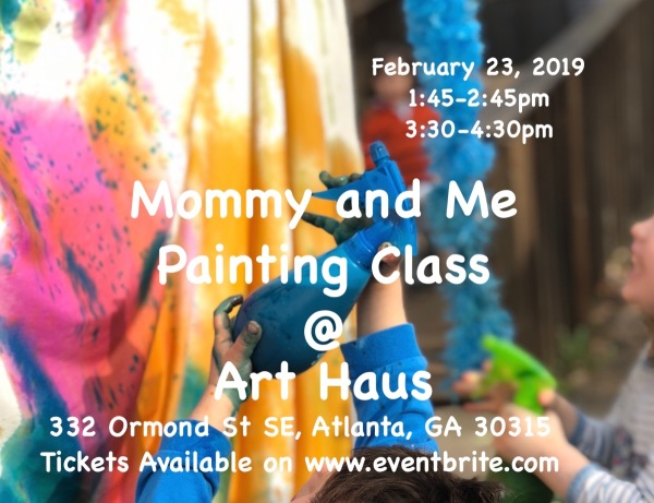 Mommy And Me Painting Class Atlanta Creative Loafing