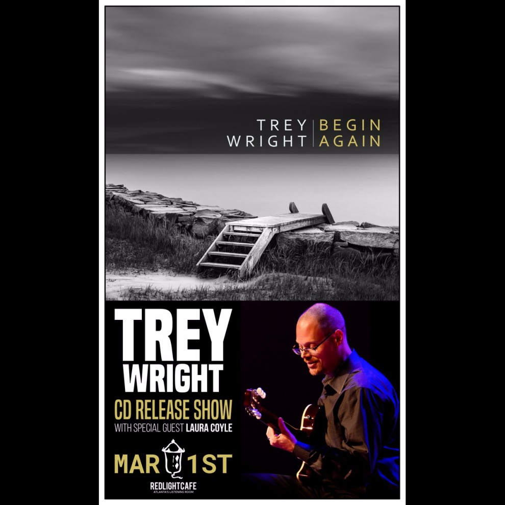 Trey Wright Cd Release Show W Laura Coyle At Red Light Cafe Atlanta Ga Mar 1 2019 Square