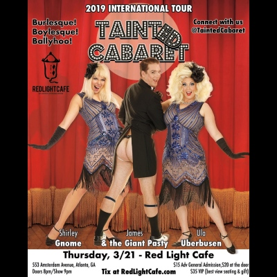 Tainted Cabaret In Atlanta At Red Light Cafe Atlanta Ga Mar 21 2019 Square