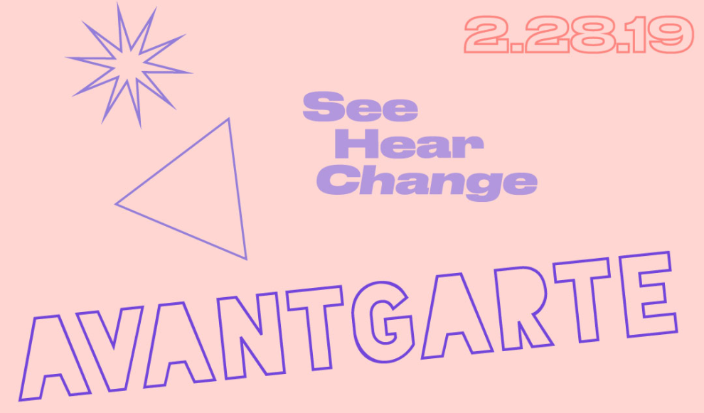 AVANTGARTE Flyer Event Header