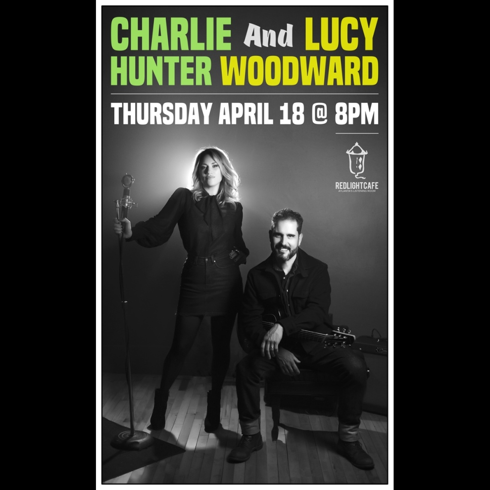 Charlie Hunter And Lucy Woodward At Red Light Cafe Atlanta Ga Apr 18 2019 Square
