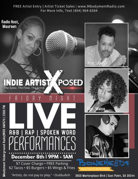 Indie Artist Xposed Showcase | Atlanta Creative Loafing