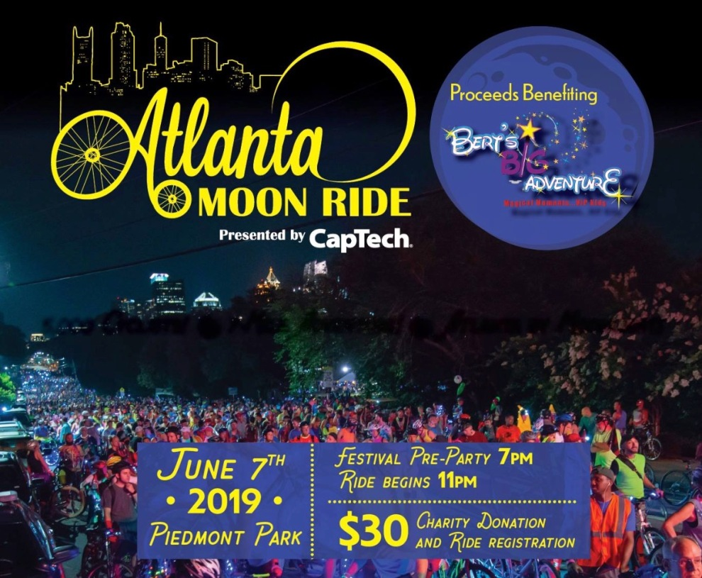 Atlanta Moon Ride Benefiting Bert's Big Adventure