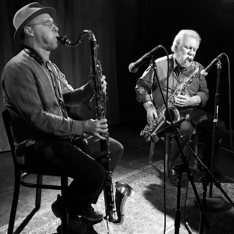 Evan Parker And Ned Rothenberg