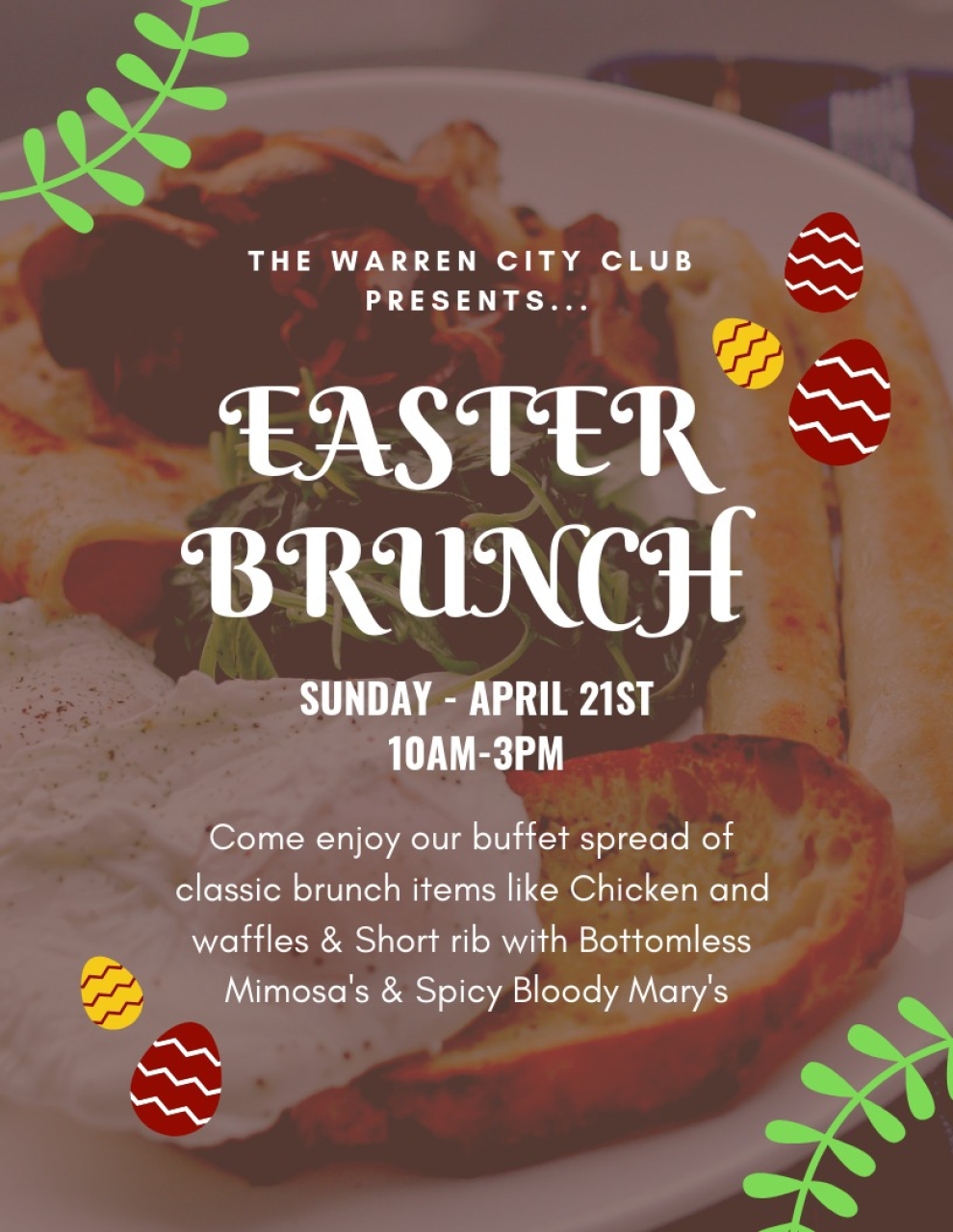 Easter Brunch Special 2020