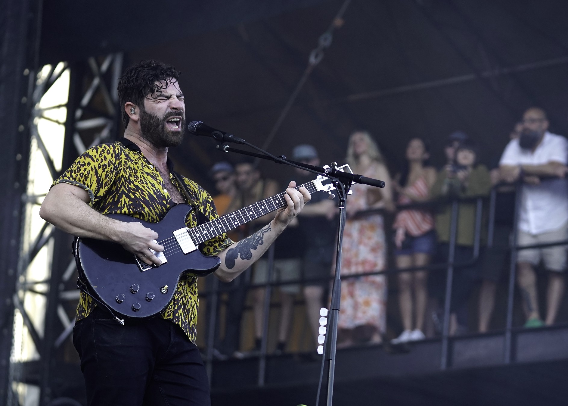 Foals photo by Perry Julien