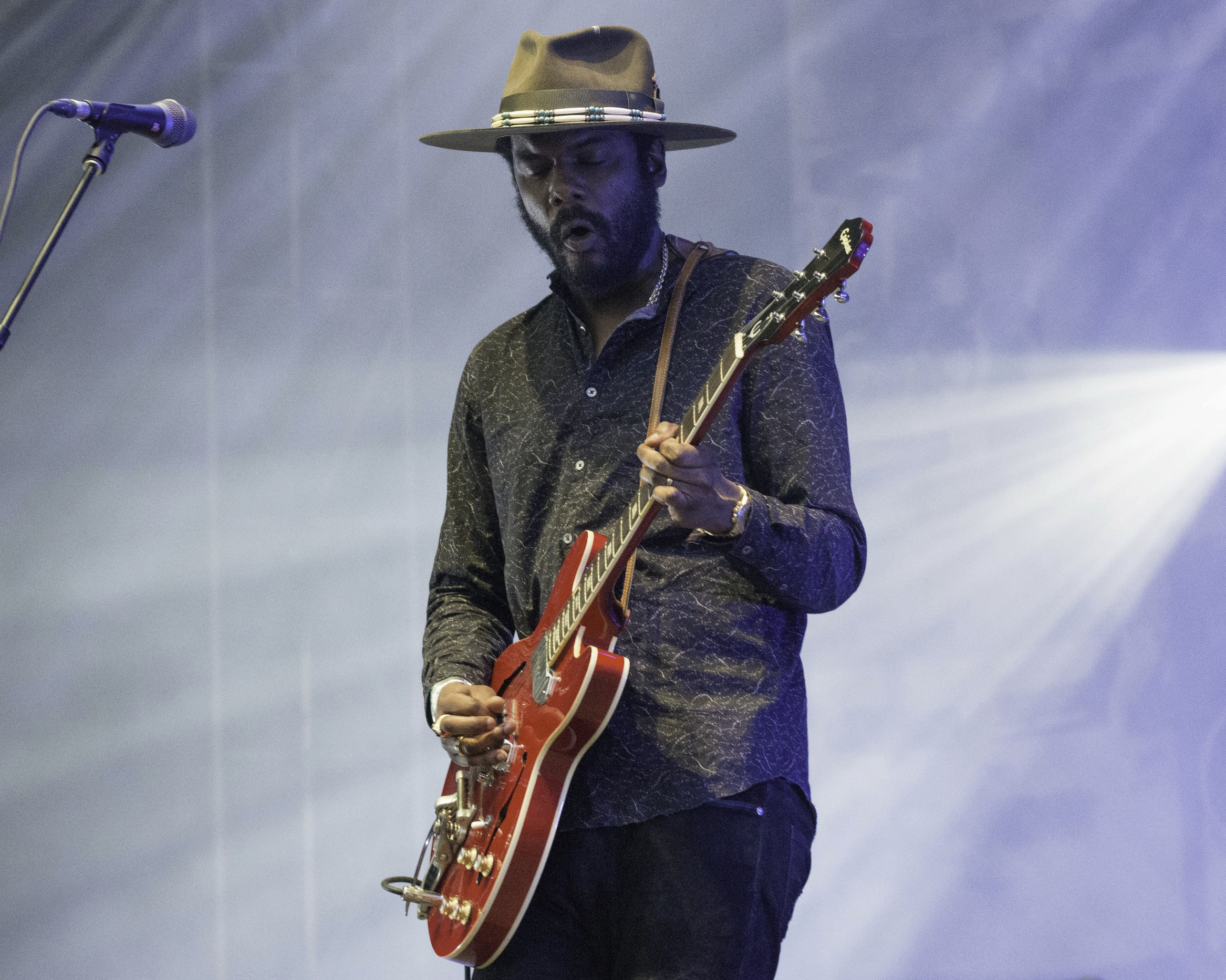 Gary Clark Jr. photo by Hillery Terenzi