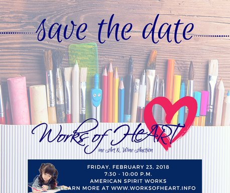 Works Of HeART Save The Date