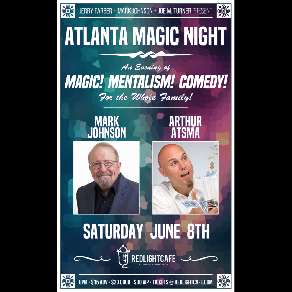 Atlanta Magic Night At Red Light Cafe Atlanta Ga Jun 8 2019 Square