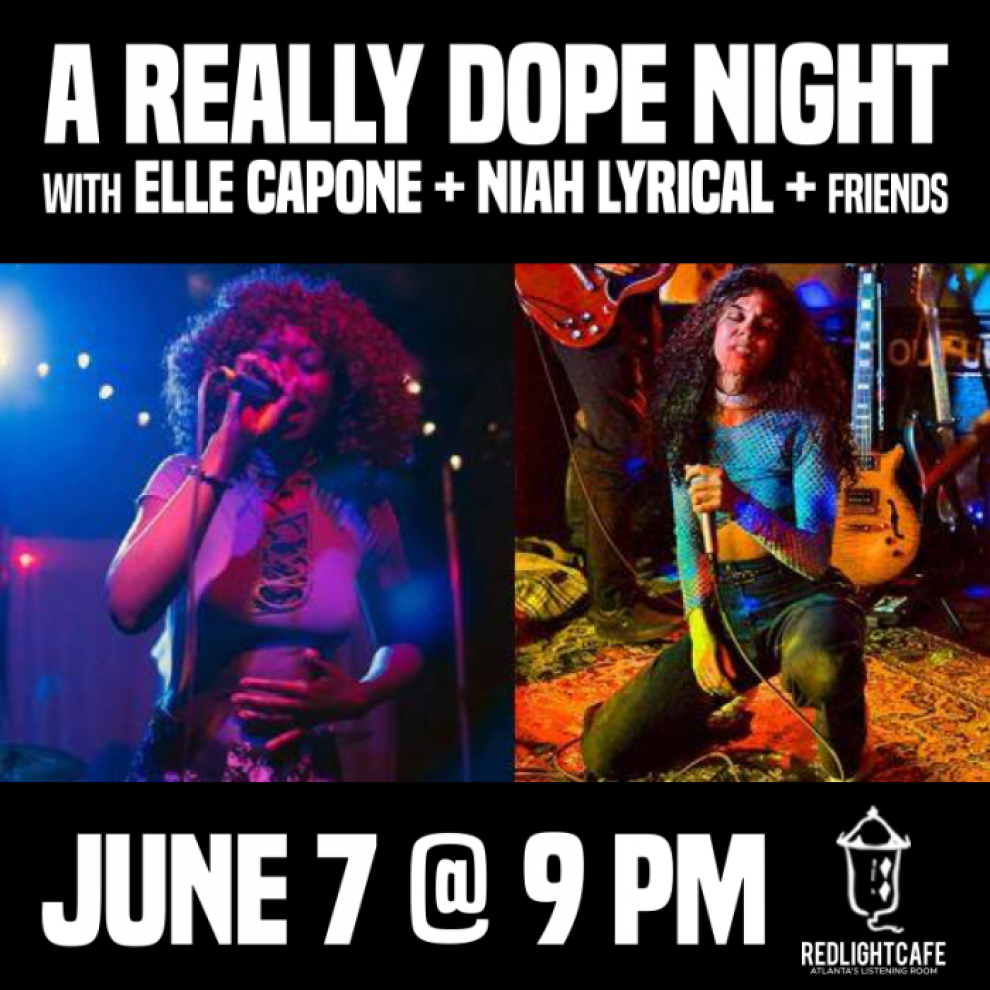 A Really Dope Night With Elle Capone N... Cafe Atlanta Ga Jun 7 2019 Square