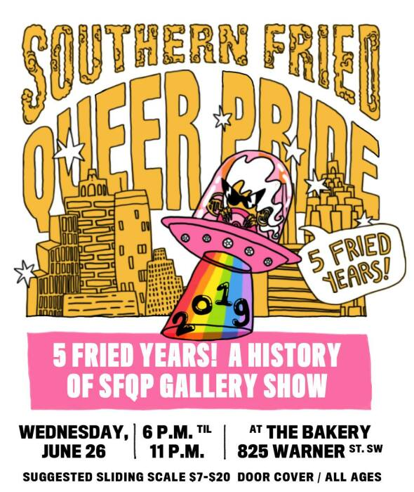 Southern Fried Queer Pride's Festival will take place at The Bakery.