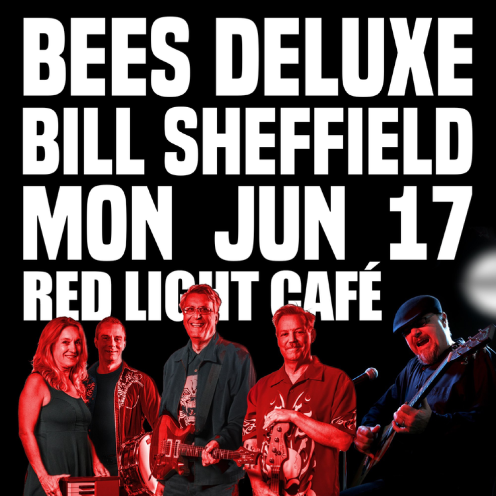 Bees Deluxe Bill Sheffield At Red Light Cafe Atlanta Ga Jun 17 2019 Square