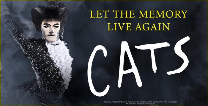 CATS plays at the Fox Theatre Aug. 6-11.