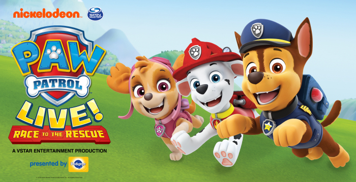 Paw Patrol Live! plays at the Fox Theatre Aug. 17-18.