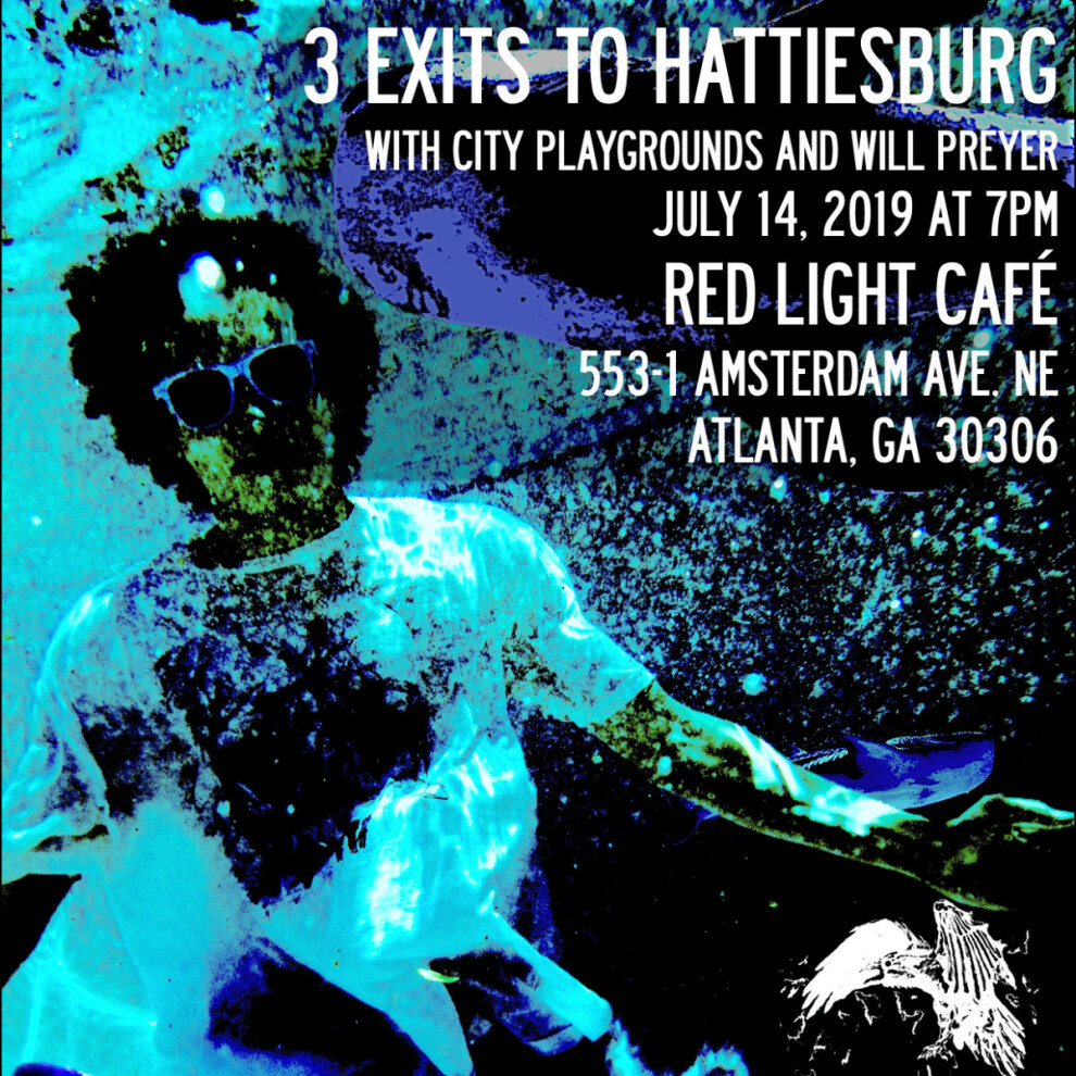 3 Exits To Hattiesburb W City Playgrounds Will Preyer At Red Light Cafe Atlanta Ga Jul 14 2019 Square