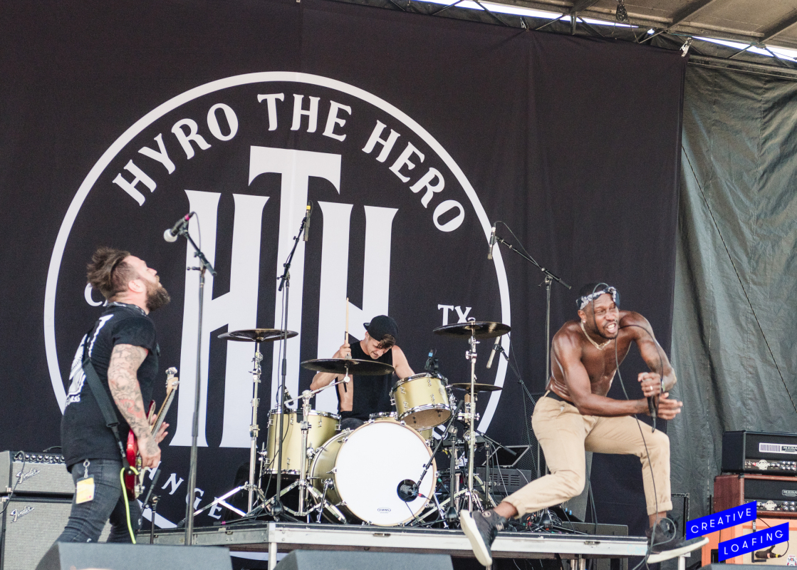 HYRO THE HERO: Setting the bar high. Photo credit: Stephanie Heath