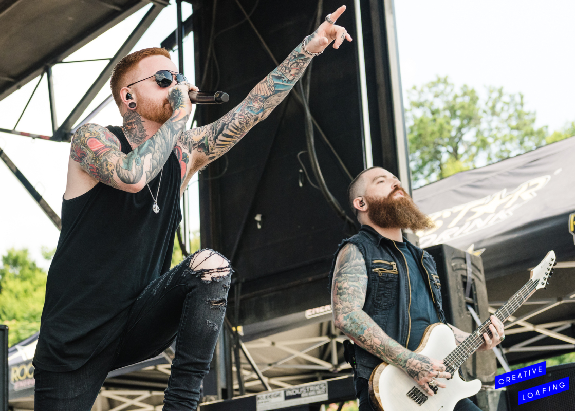 MEMPHIS MAY FIRE: Mark My Words. Photo credit: Stephanie Heath