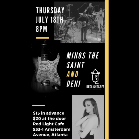 Minos The Saint W Deni At Red Light Cafe Atlanta Ga Jul 18 2019 Square