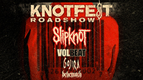 Knotfest Roadshow featuring: Slipknot, Volbeat, Gojira, Behemoth come to Ameris Bank, Tues., Sept. 3.