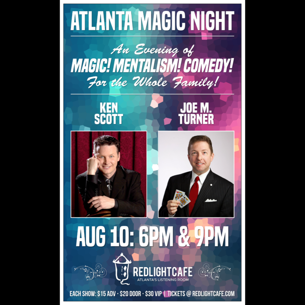 Atlanta Magic Night At Red Light Cafe Atlanta Ga Aug 10 2019 Square