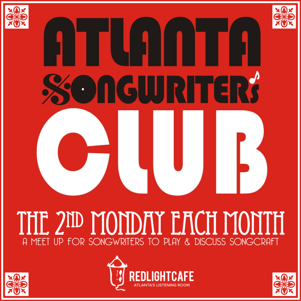 2019 Atlanta Songwriters Club At Red Light Cafe Atlanta Ga Square