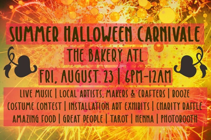 SPOOKY SUMMER: Celebrate Halloween early this year on Friday, August 23 at The Bakery.