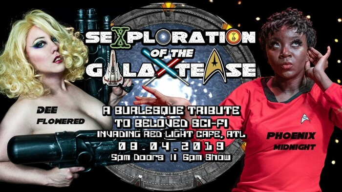 Sexploration of the Galaxtease is at Red Light Cafe Sun., Aug. 4.