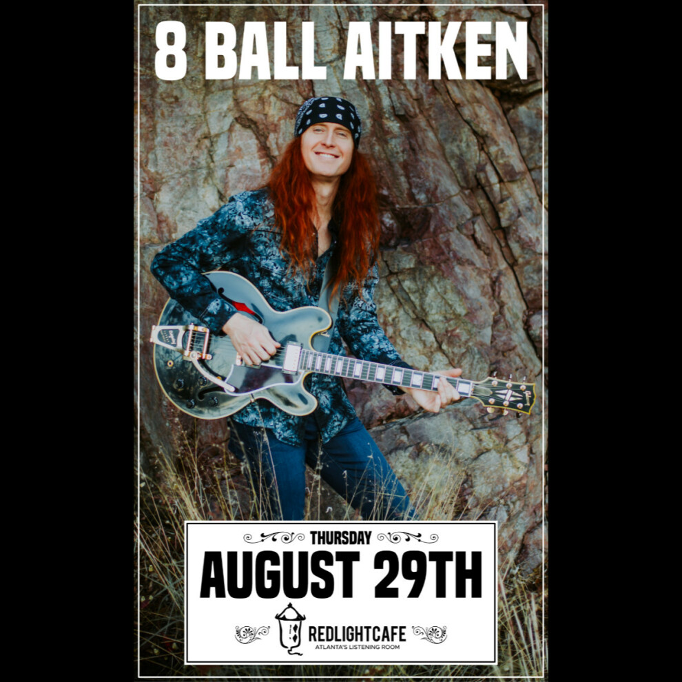 8 Ball Aitken Live In Atlanta At Red Light Cafe Atlanta Ga Aug 29 2019 Square