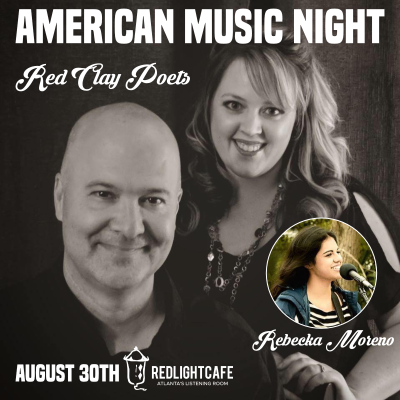 American Music Night W Red Clay Poets Rebecka Moreno At Red Light Cafe Atlanta Ga Aug 30 2019 Square