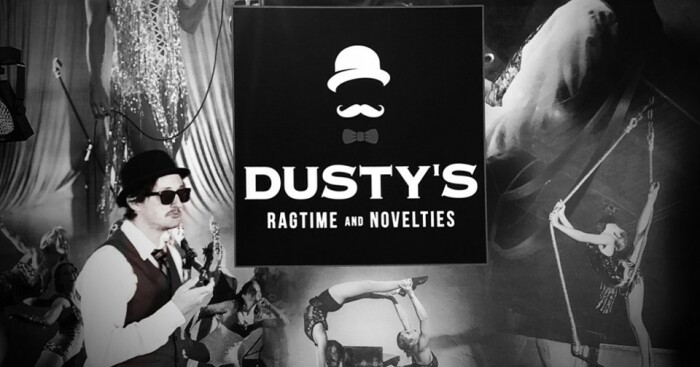 Dusty's Ragtime & Novelties is at Red Light Cafe Sun., Sep. 8.