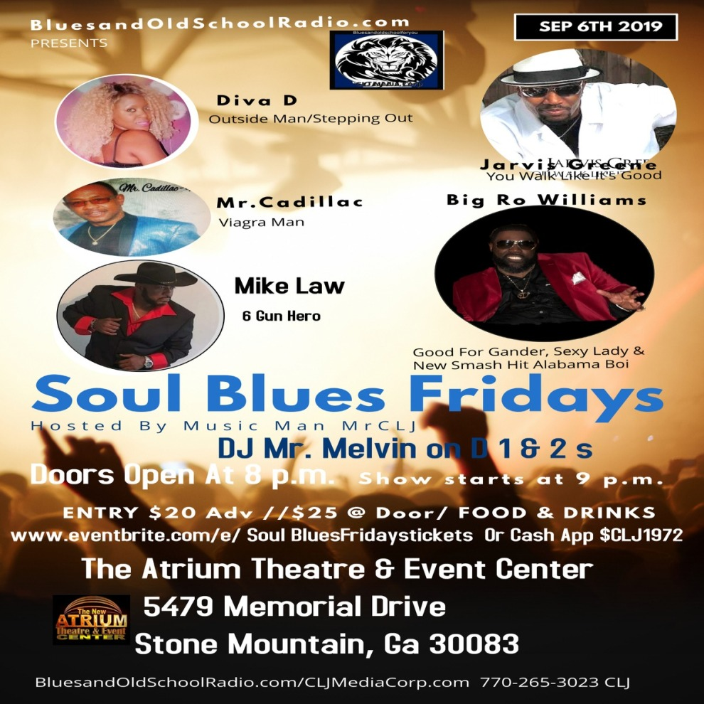 Soul Blues Friday Smaller