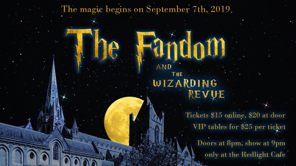 The Fandom And The Wizarding Revue At Red Light Cafe Atlanta Ga Sep 7 2019 Banner