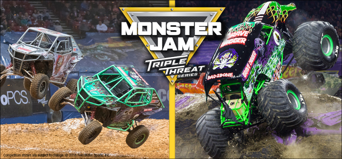 Monster Jam is at the Infinite Energy Center Sep. 13-15.