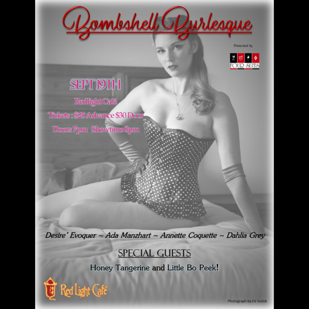 Bombshell Burlesque At Red Light Cafe Atlanta Ga Sep 19 2019 Square