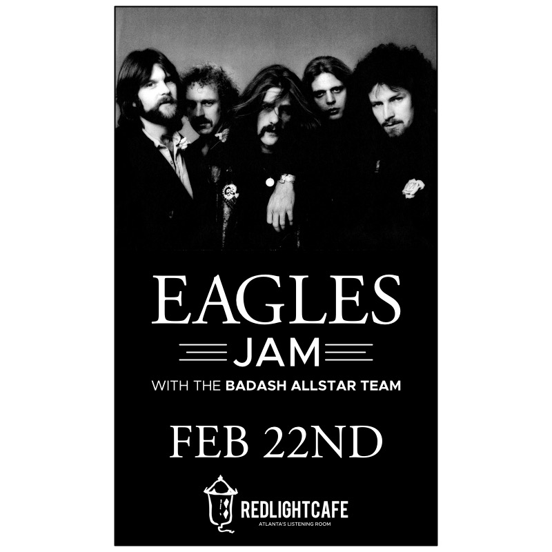 Eagles Jam W The Badash Allstar Team At Red Light Cafe Atlanta Ga Feb 22 2018 Square