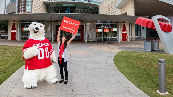 Chick Fil A Kickoff Event At World Of Coca Cola 1