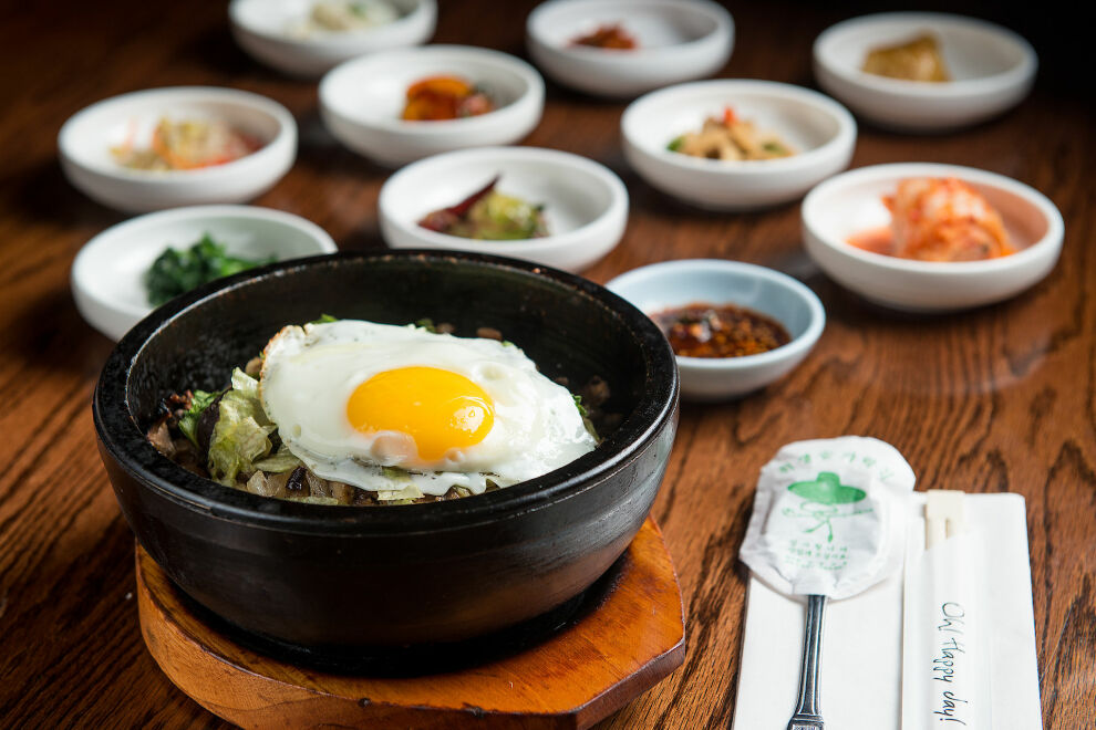 Stone Bowl House Korean