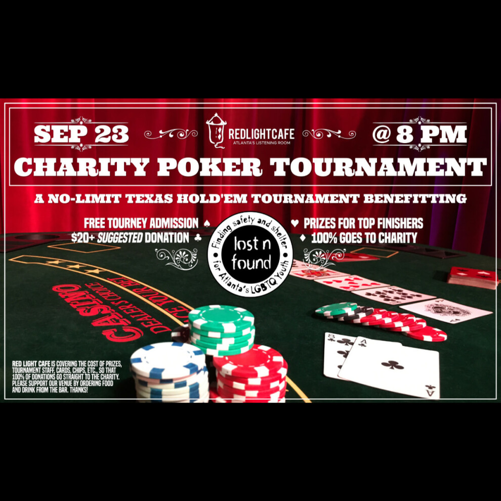 Charity Poker Night At Red Light Cafe Atlanta Ga Sep 23 2019 Square