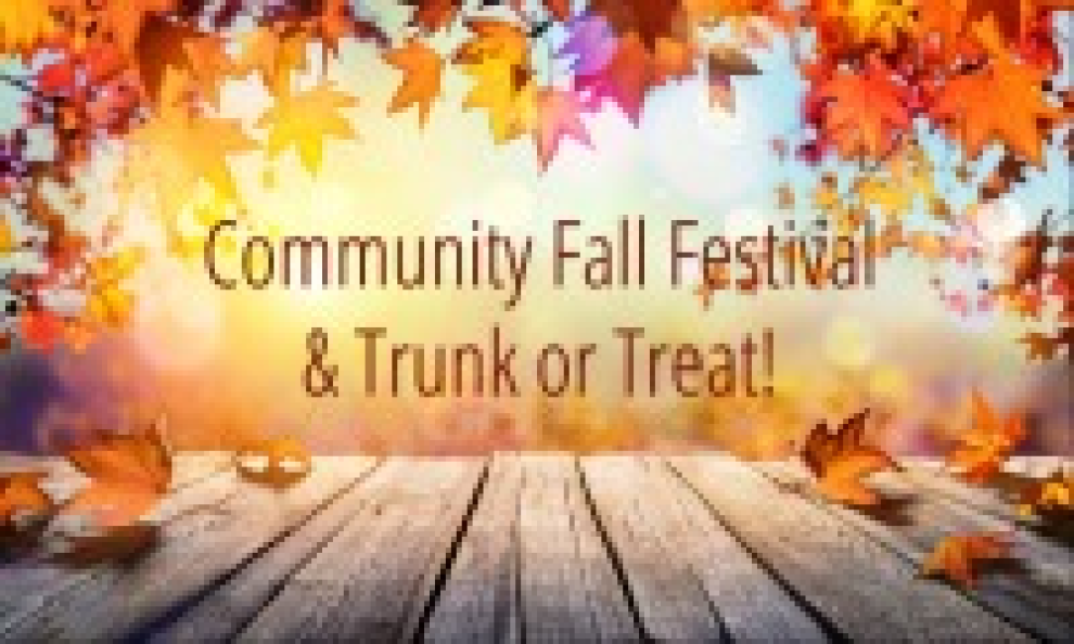 Fall Festival Trunk Or Treat 2019