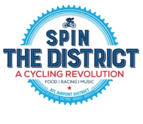 Spin The District Logo