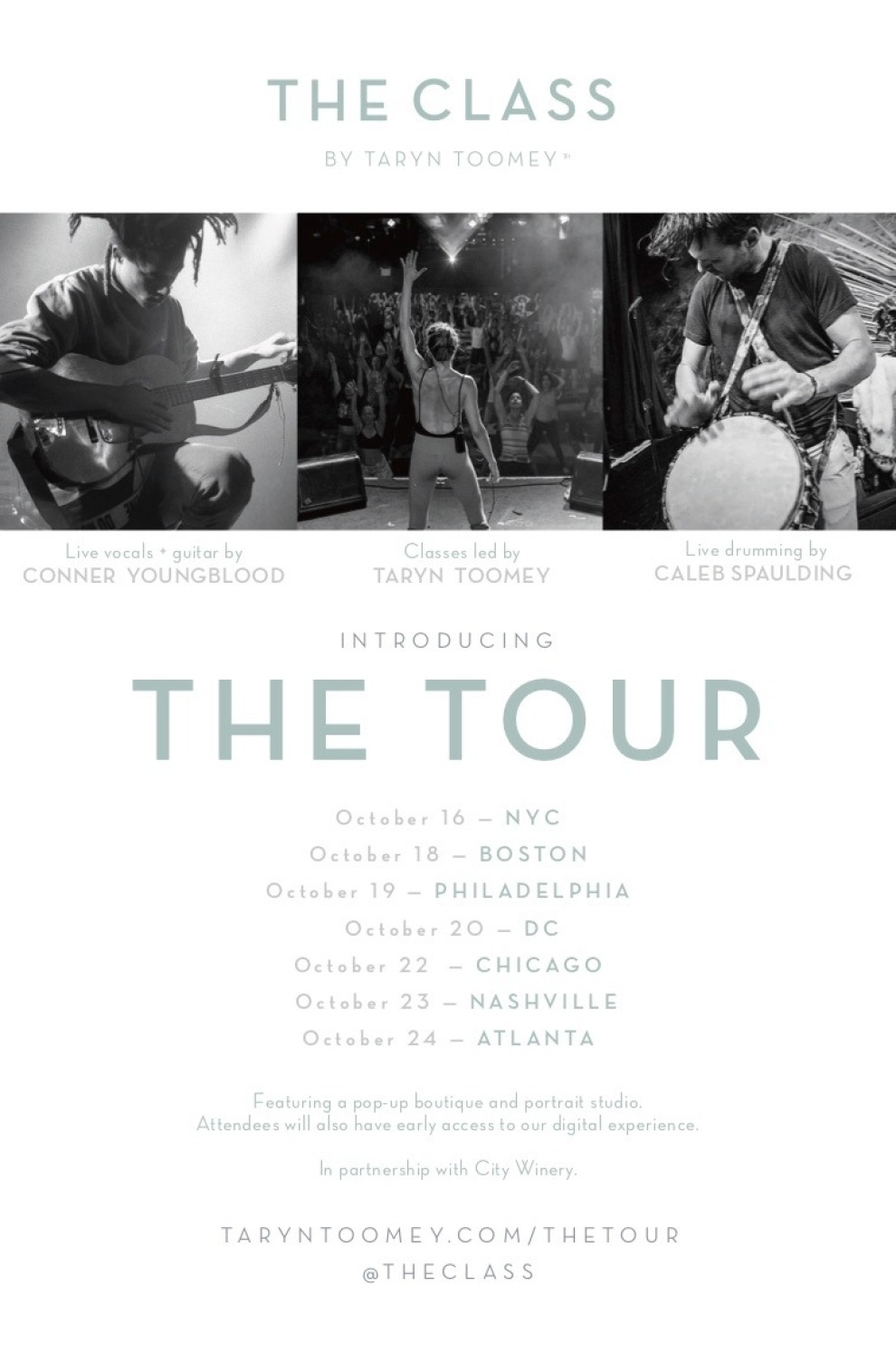 THE TOUR FLYER
