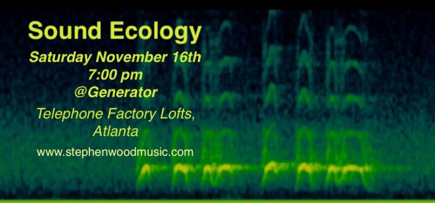 Sound Ecology   Event Card