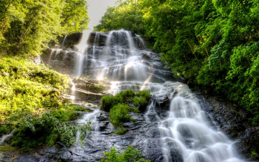 Amicalola Falls. Photo credit: Courtesy of Amicalola Falls State Park