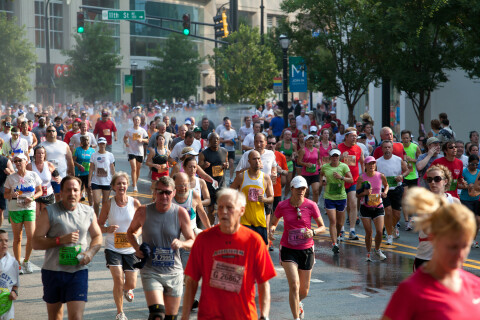 Peachtree Road Race 2012