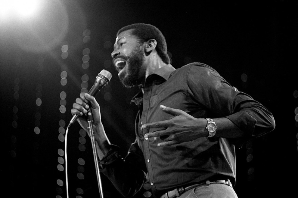 Teddy Pendergrass Sings Black And White