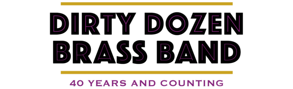 Dirty Dozen Brass Band FT Header